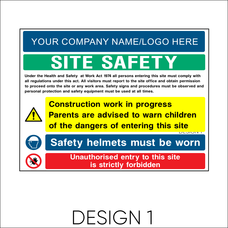 Site Safety Board 2
