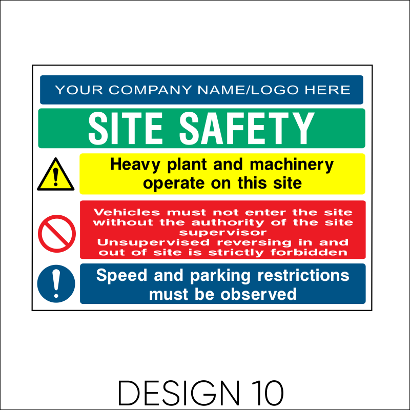 Site Safety Board 11