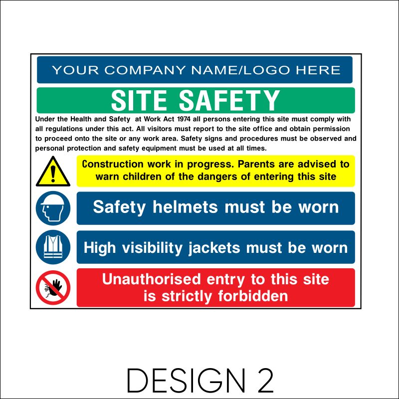 Site Safety Board 3