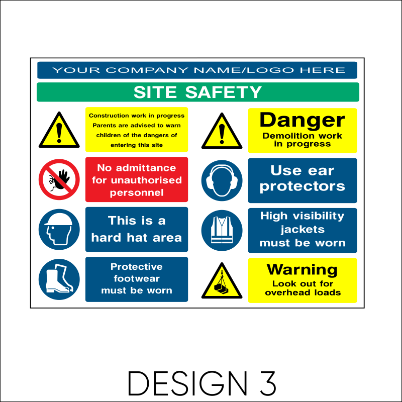 Site Safety Board 4