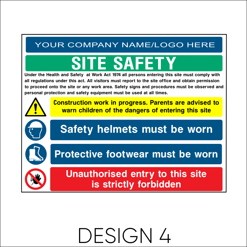 Site Safety Board 5
