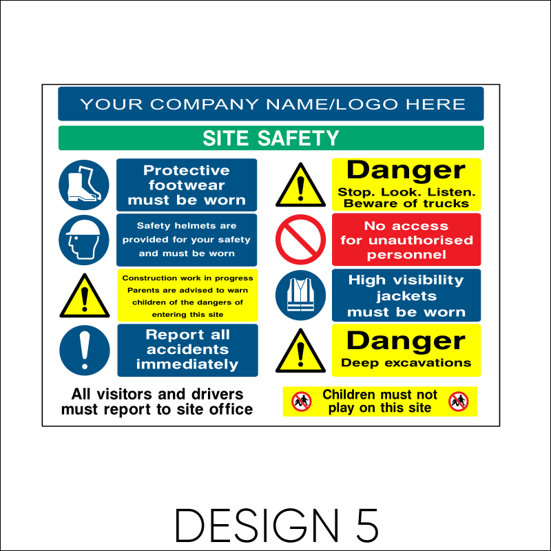 Site Safety Board 6