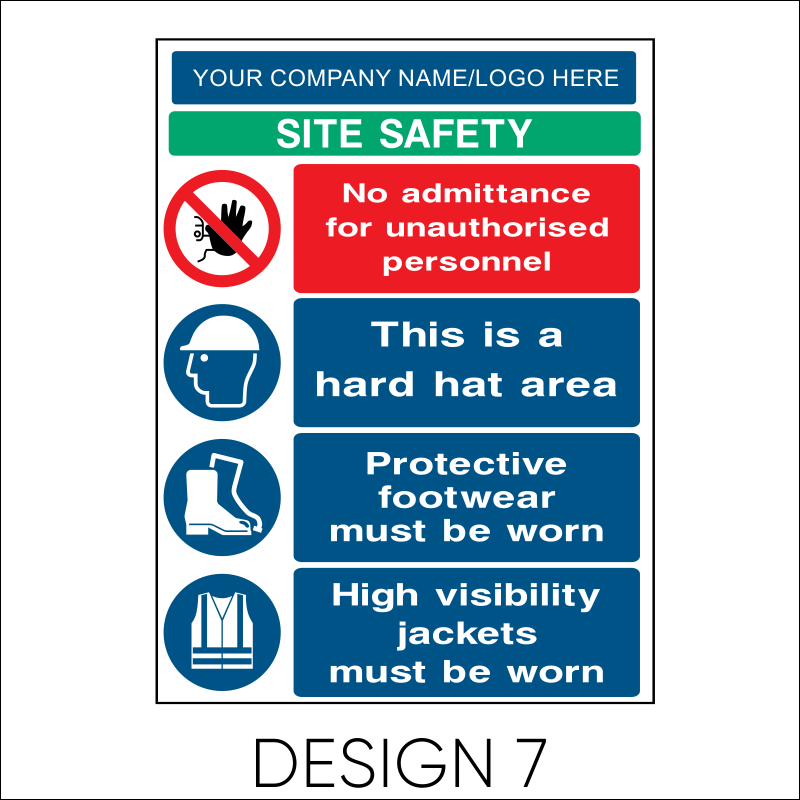 Site Safety Board 8