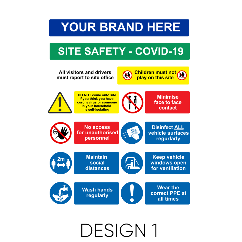 Covid 19 Safety board 2
