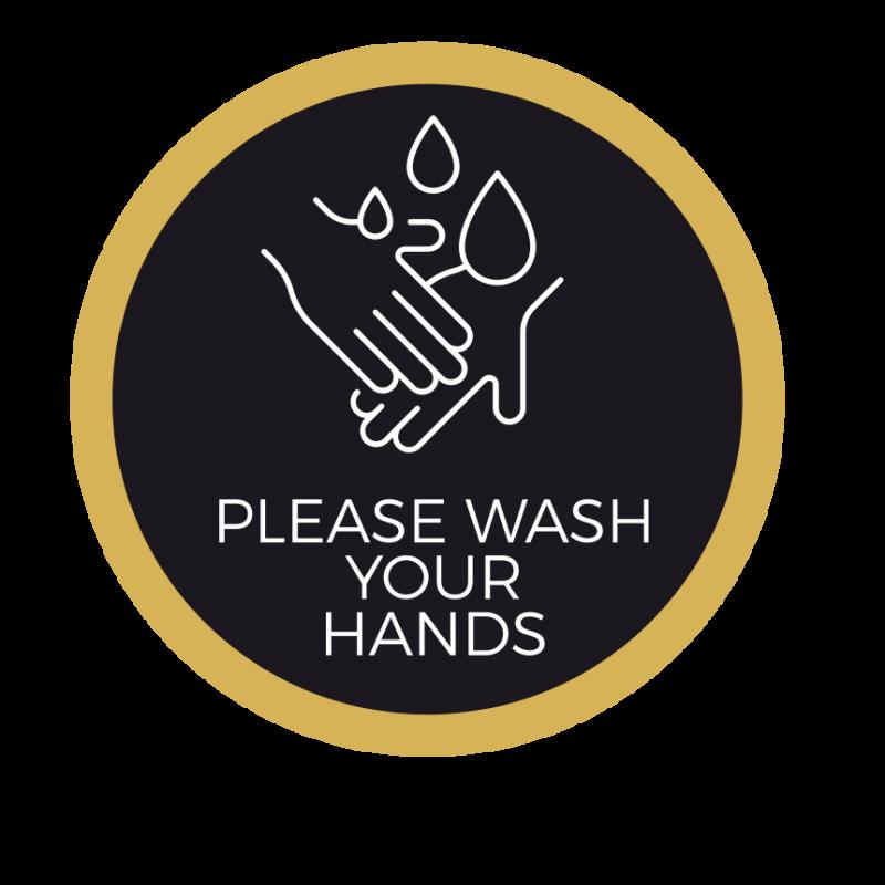 Wash Your Hands Vinyl Stickers 15
