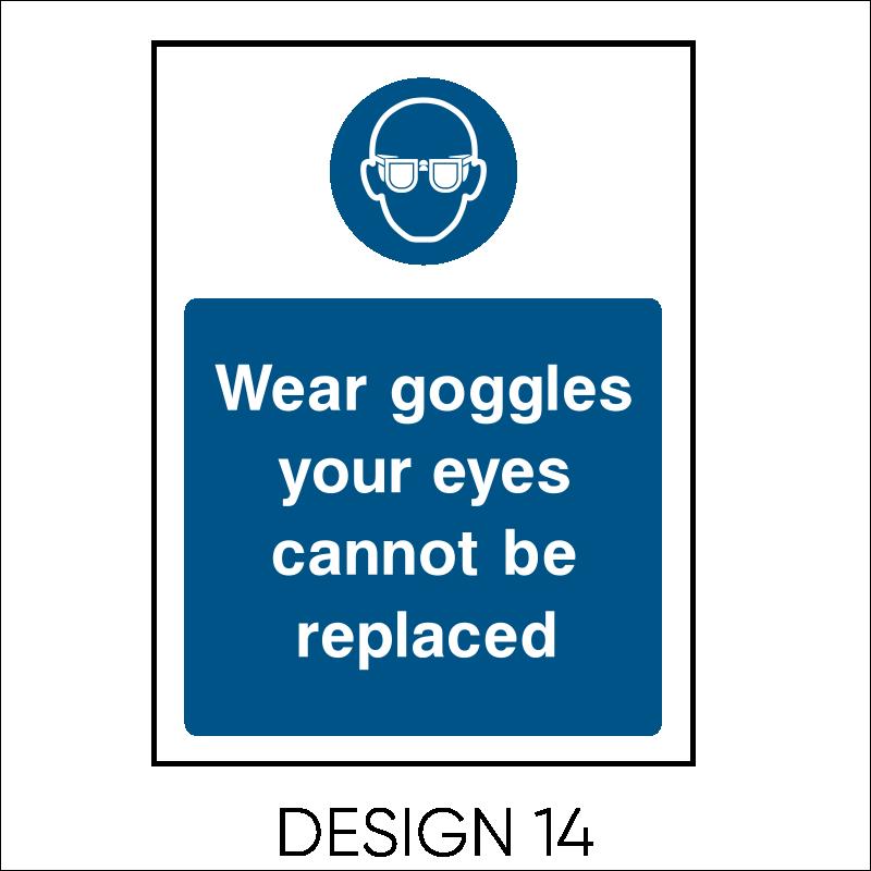 Mandatory PPE Signs 16