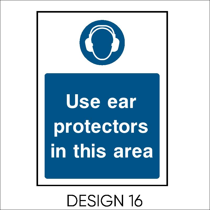 Mandatory PPE Signs 18