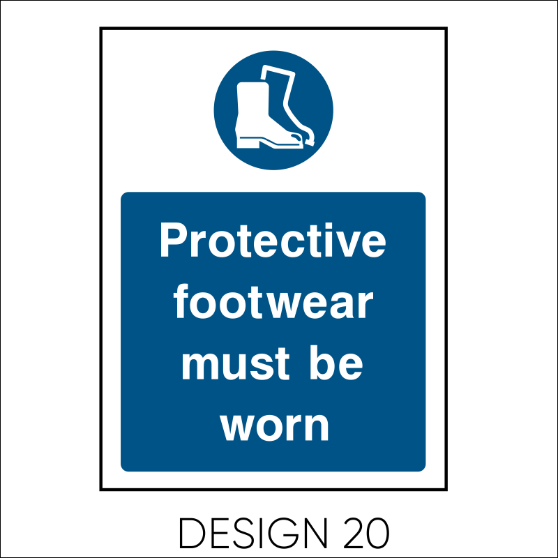 Mandatory PPE Signs 22