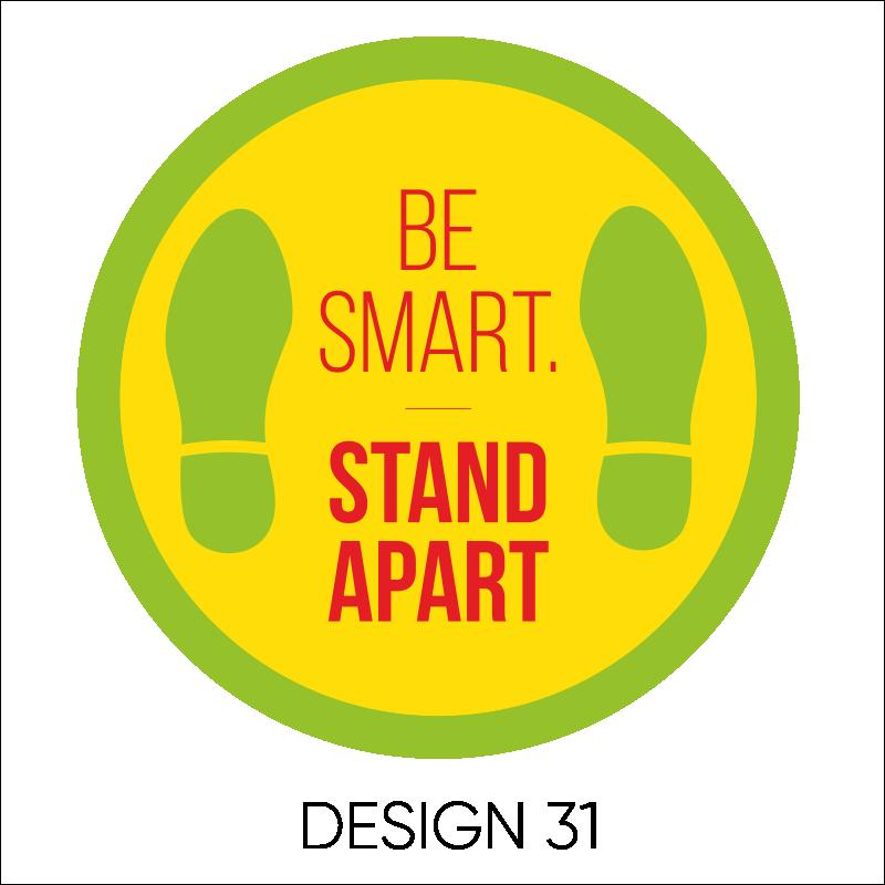 Round Laminated Stickers 9