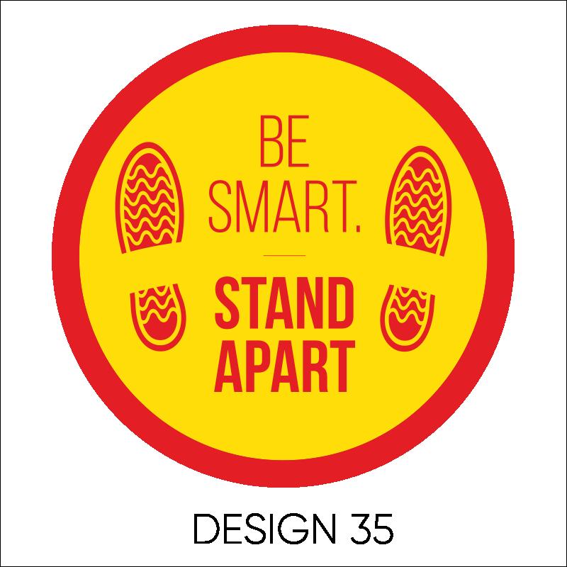 Round Laminated Stickers 12
