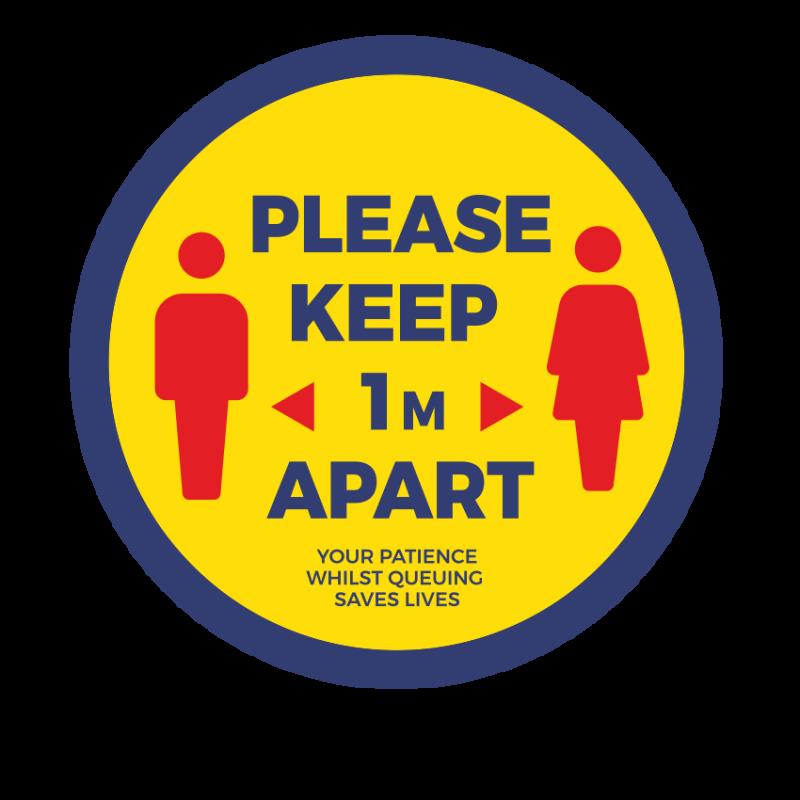 Round Laminated Stickers 2