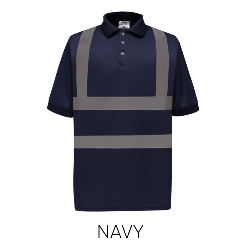 Hi-Vis Portwest Short Sleeve Polo 3