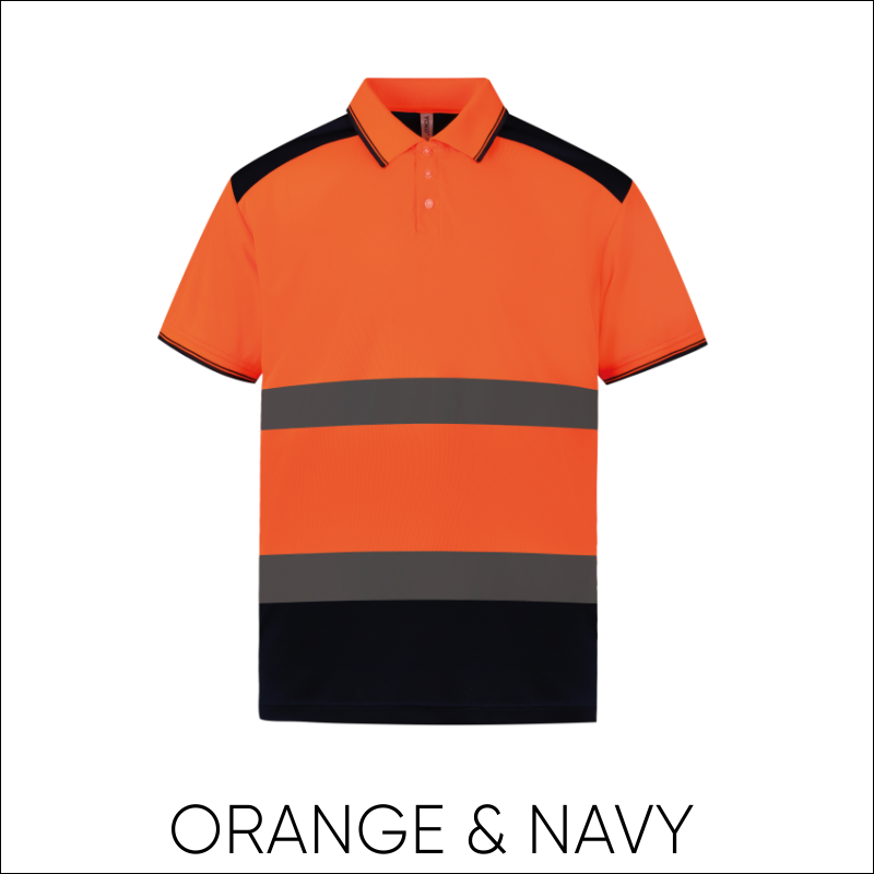 Hi-Vis Two-Tone Polo Shirt 2
