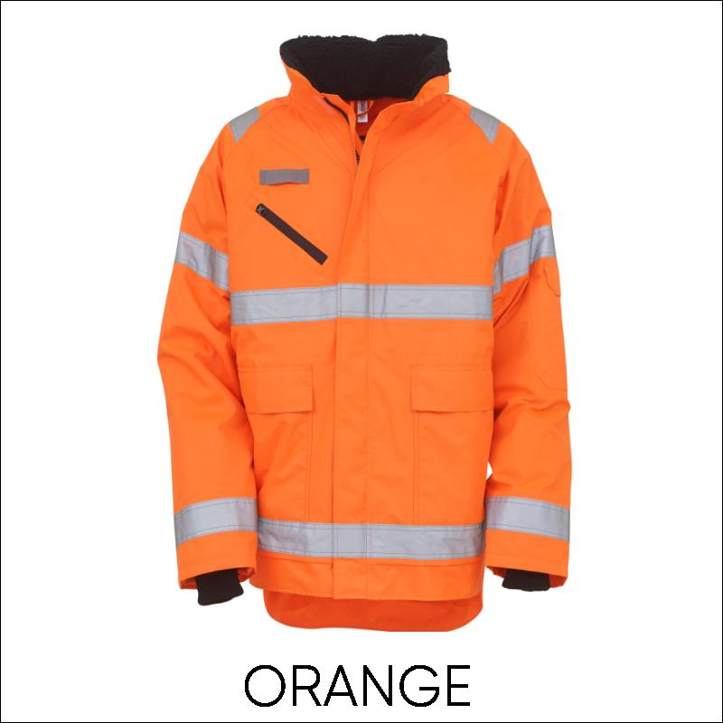 YOKO Hi-Vis Fontaine Storm Jacket 2