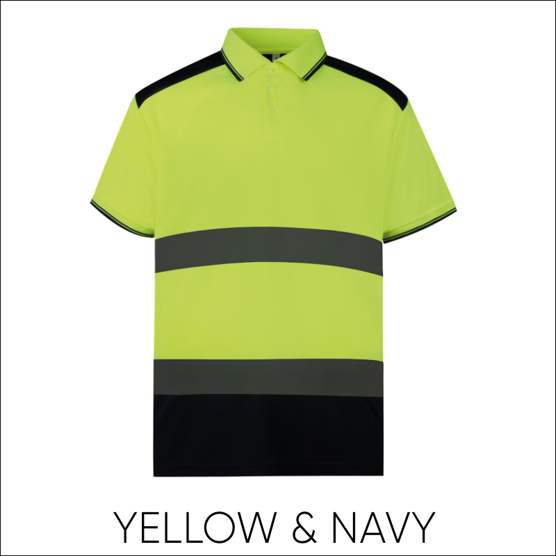 Hi-Vis Two-Tone Polo Shirt 3