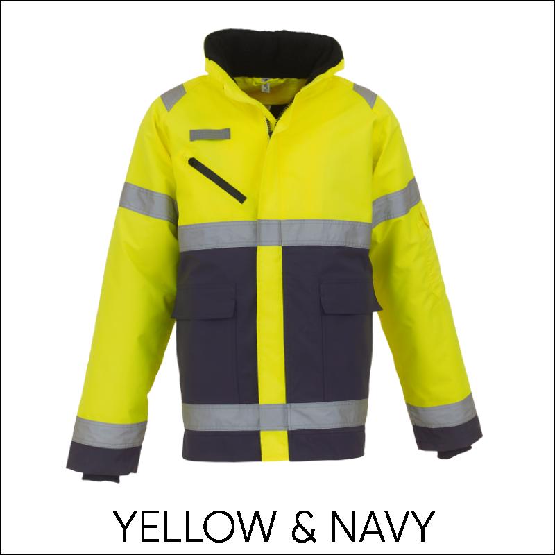 YOKO Hi-Vis Fontaine Storm Jacket 4