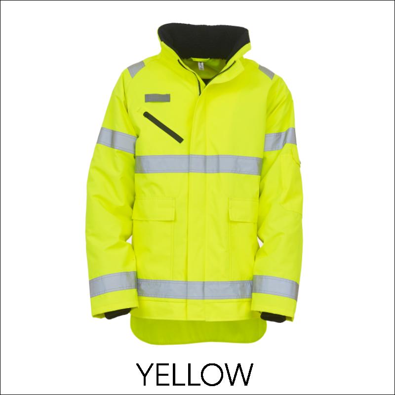 YOKO Hi-Vis Fontaine Storm Jacket 3