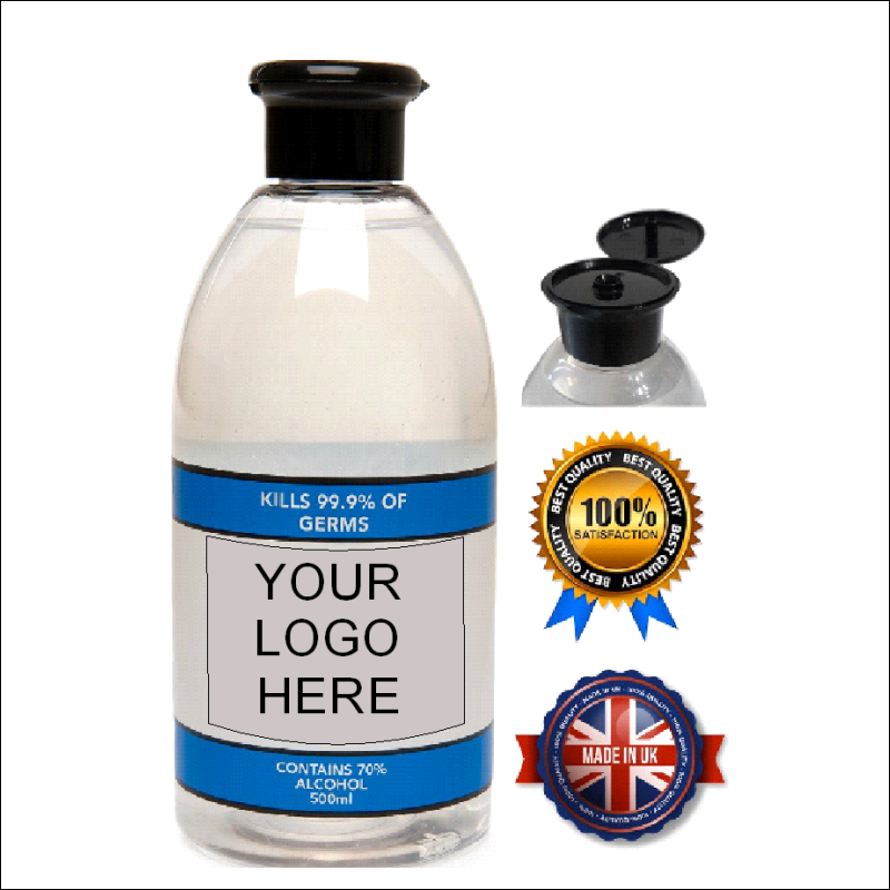 Hand Sanitiser - Branded With Your Logo 1