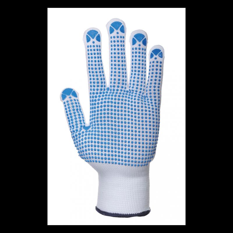 Portwest Nylon polka dot glove 1