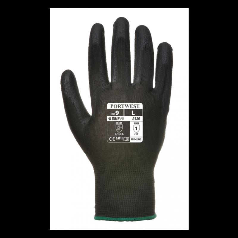 Portwest PU palm-coated glove 1