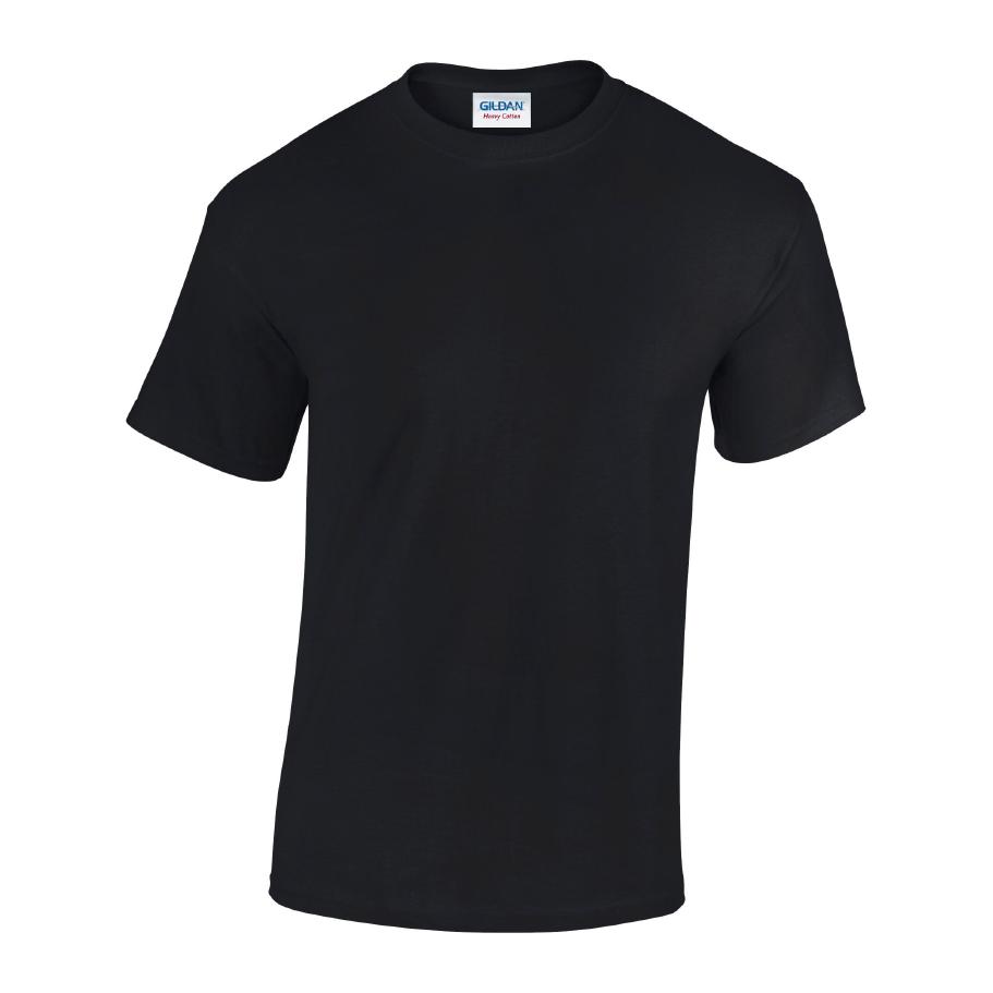 Heavy Cotton Crew Neck Tee Shirt 1
